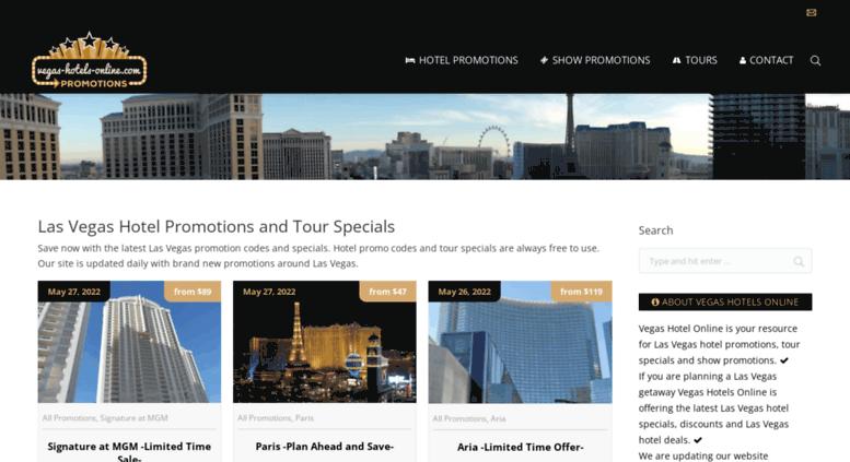 Access Vegas Hotels Online Com Las Vegas Hotel Promotion Codes