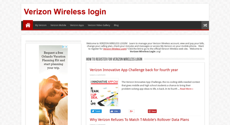 Access verizonwirelesslogin org