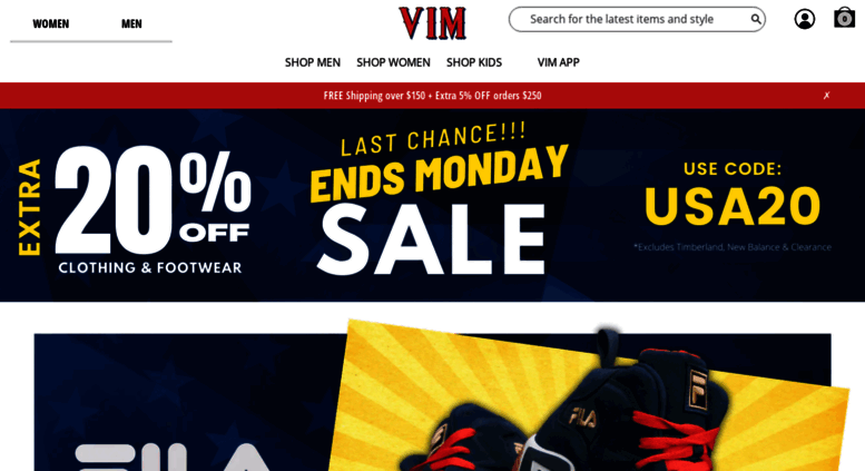 75b7a961e2d3 Access vim.com. Buy Online from V.I.M. - The Best Jeans and Sneaker ...
