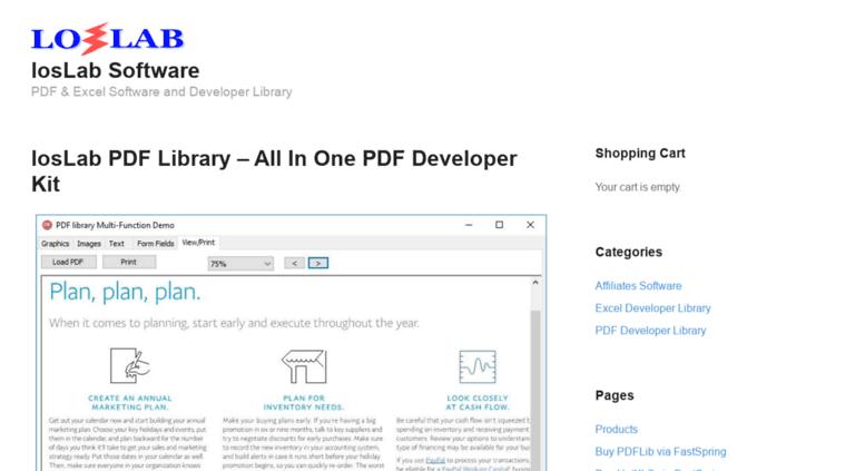 Access vispdf com  Delphi PDF component, Delphi PDF library