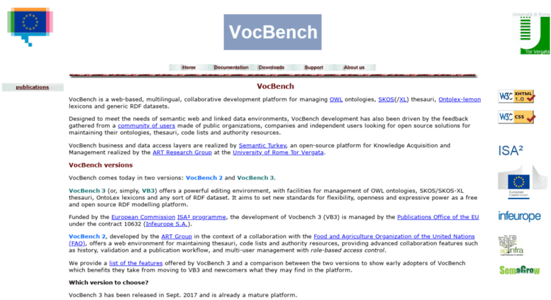 Access Vocbench Uniroma2 It  Vocbench  A Collaborative