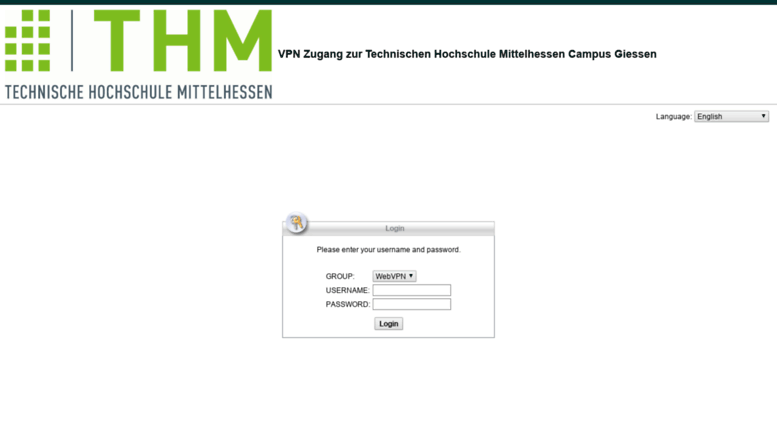 thm access