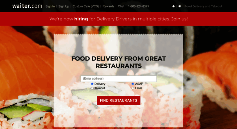 Access Waiter Com Food Delivery Near Me Order Restaurant