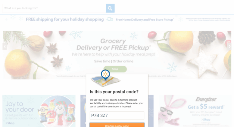 Access walmart ca  Online Shopping Canada: Everyday Low