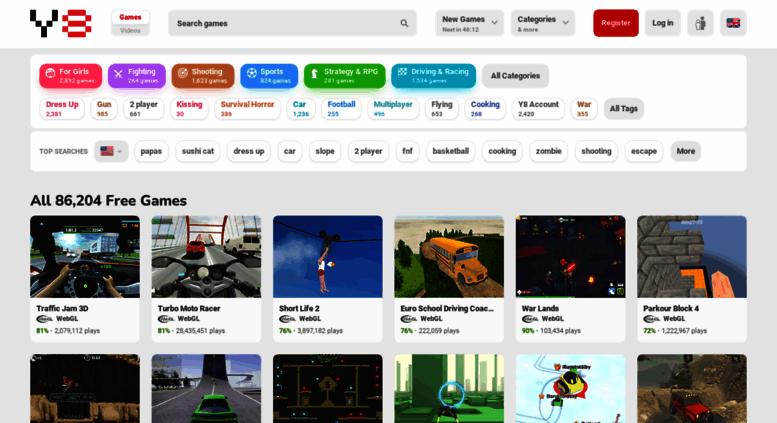 Access Wap Y8 Com Y8 Games Play Free Online Games At Y8 Com