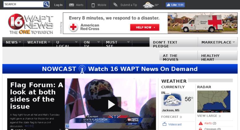 Access wapt htv live ib-prod com  Jackson, MS News, Weather and