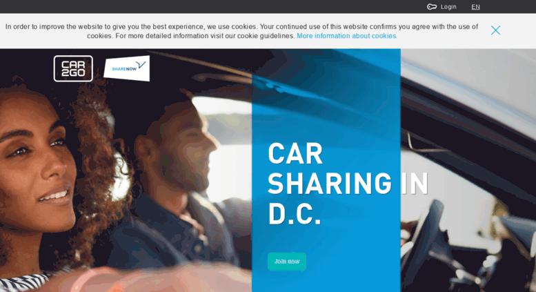 Access Washingtondc Car2go Com Carsharing Hourly Car