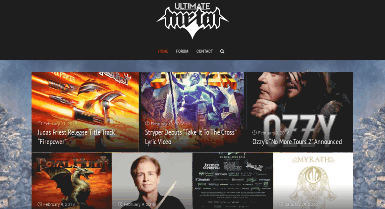 Access web01 ultimatemetal com  Ultimate Metal | A