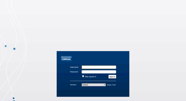 Access webmail copasa com br  Zimbra Web Client Sign In