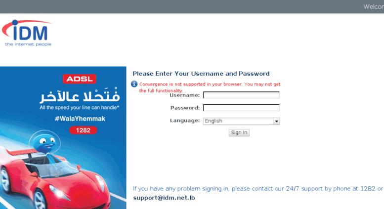 idm internet lebanon