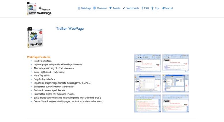 serial do trellian webpage