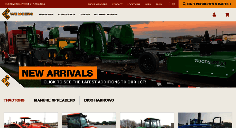 Wengers Of Myerstown >> Access Wengers Com Wengers Farm Equipment Tractor Parts