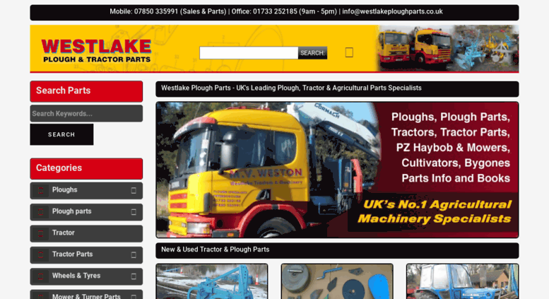 Access Westlakeploughparts Co Uk Ploughs Tractors Parts