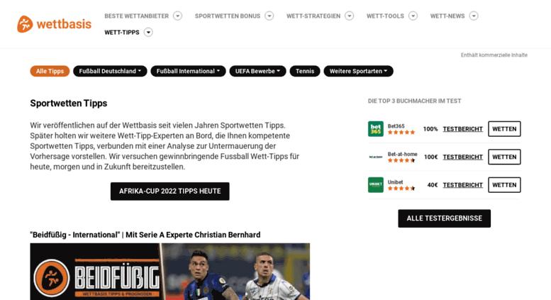 Access Wett Info Wett Tipps Fur Tipper Von Tippern Auf Wett