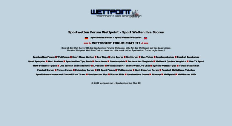 Access Wettpoint Net Sportwetten Forum Wettpoint Sport