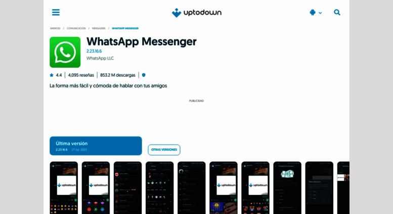 descargar whatsapp messenger para iphone