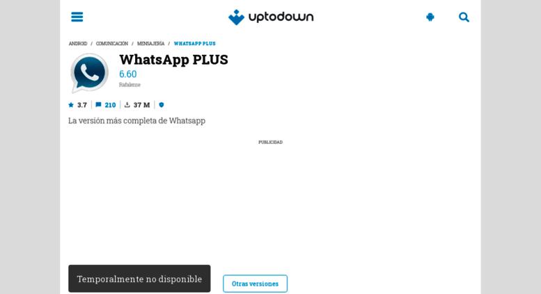 descargar whatsapp plus holo gratis para android