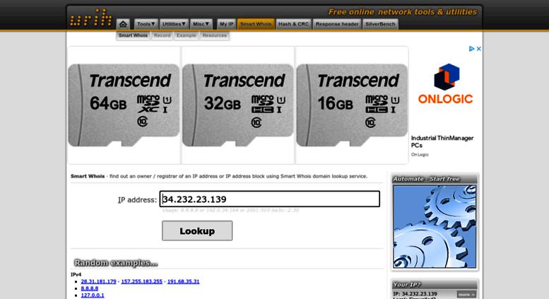 Website Owner Lookup >> Access Whois Urih Com Whois Ip Address Owner Lookup