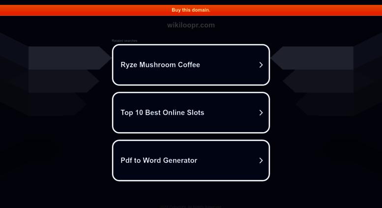Access wikiloopr com  WikiLoopr - Find loops in the network
