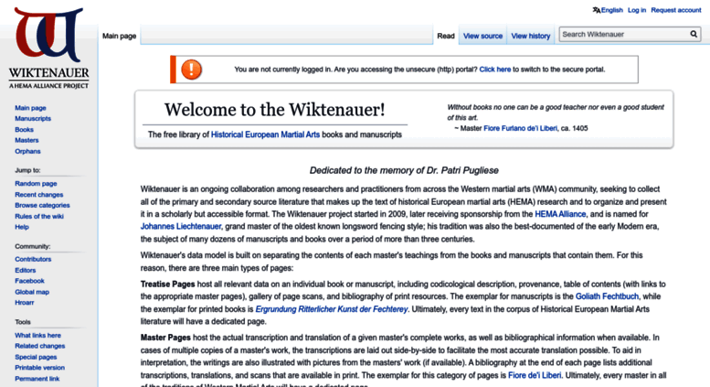 Access wiktenauer com  Wiktenauer, the world's largest