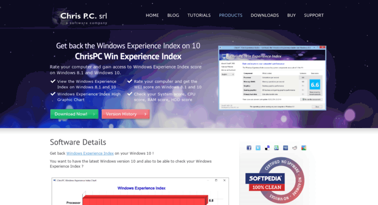 windows 8.1 experience index