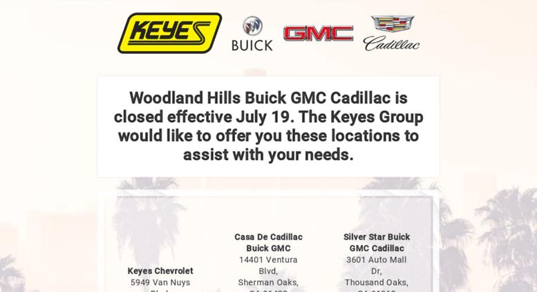 Keyes Woodland Hills >> Access Woodlandhillsgm Com Woodland Hills Buick Gmc