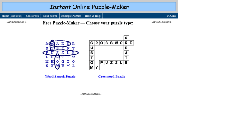 Access Word Search Maker Com Free Online Puzzle Maker