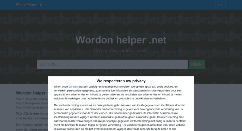 Access Wordonhelpernet Wordon Helper Voer Je Wordon
