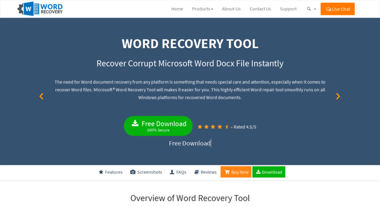 microsoft word recovery tool