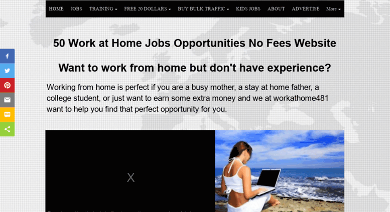 Access Workathome481 Com Benefits Of Work At Home Jobs