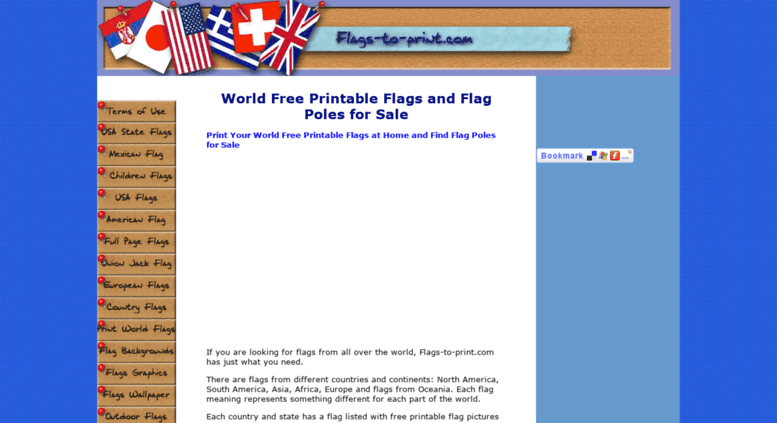 image regarding Printable Flags called Arrive at . Environment No cost Printable