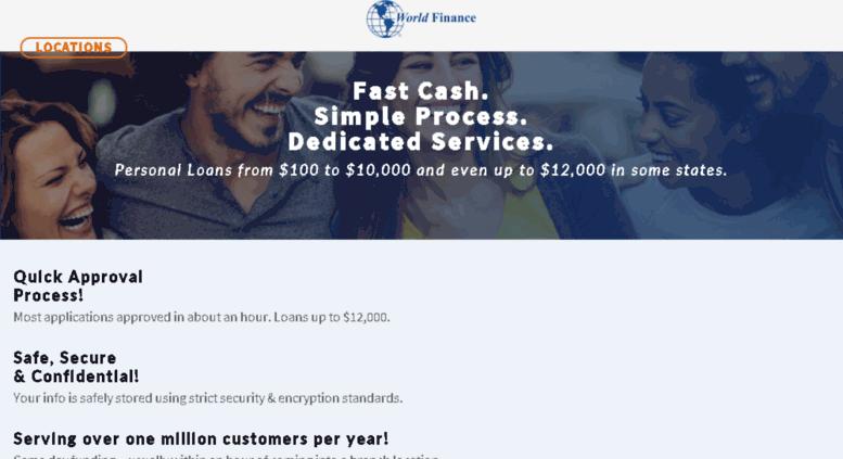 Access Worldfinanceloanapplication Com World Finance Loan Application World Finance