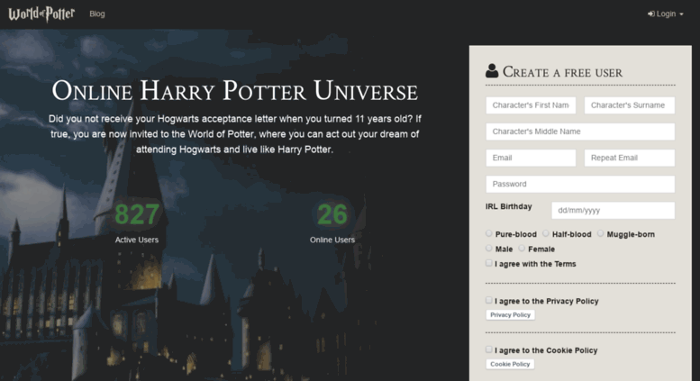 Bilderesultat for world of potter EU