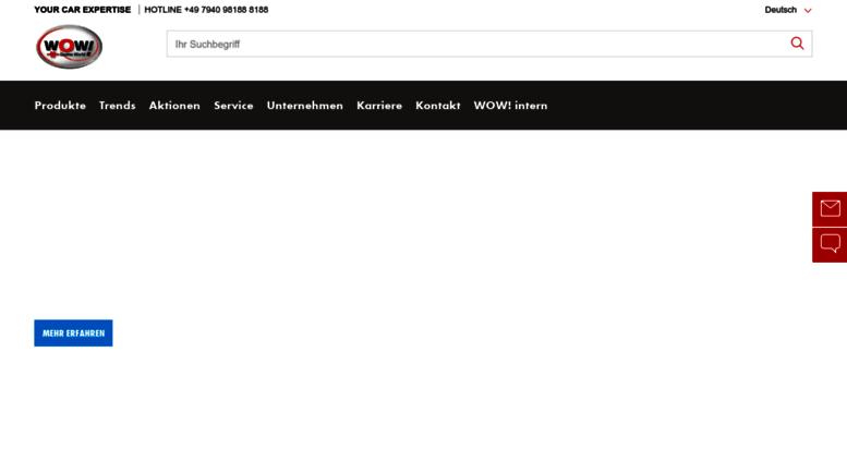 Access wow-portal com  Würth Online World - WOW! Würth Online World