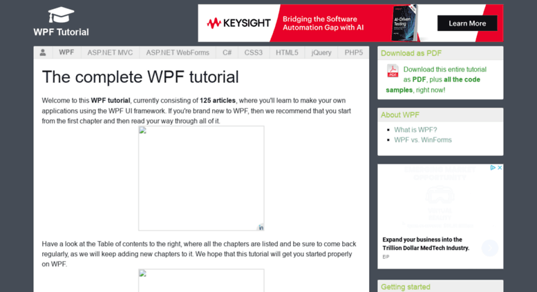 Access wpf-tutorial com  Welcome - The complete WPF tutorial