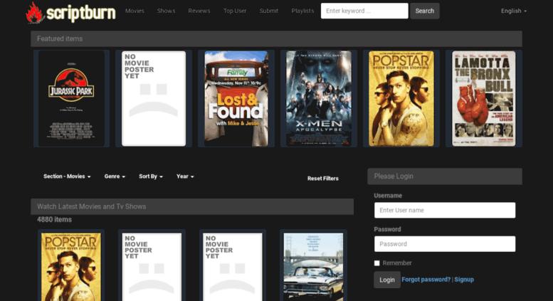 Access wpmovies scriptburn com  Watch Latest Movies and Tv