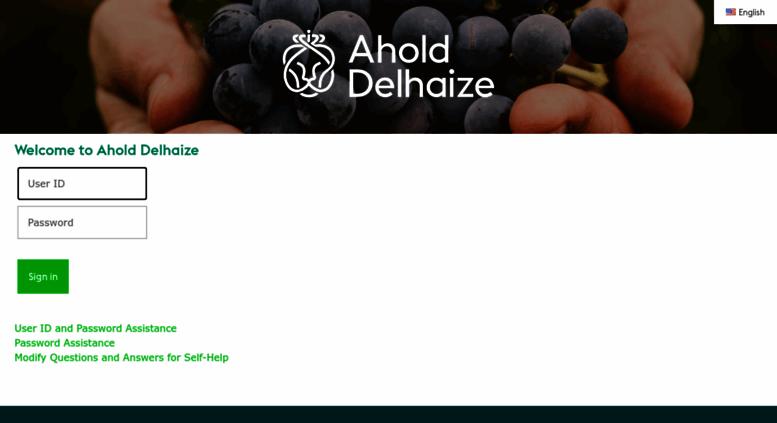 Access ws1 aholdusa com  Ahold Delhaize US Login