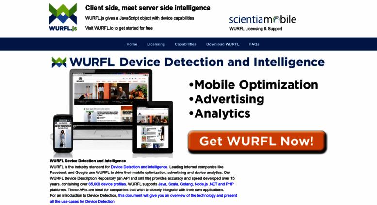 Wurfl database