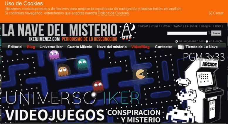 Access ww.ikerjimenez.com. :: Ikerjimenez.com :: Periodismo de lo ...