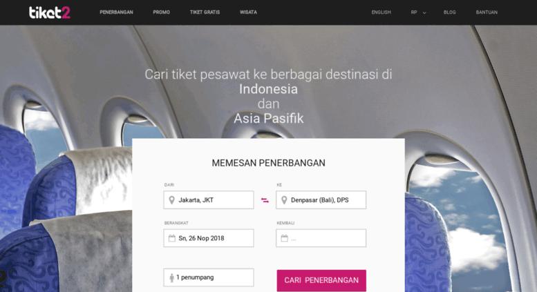 Access Ww2 Tiket2 Com Tiket Pesawat Murah 25 Web Promo