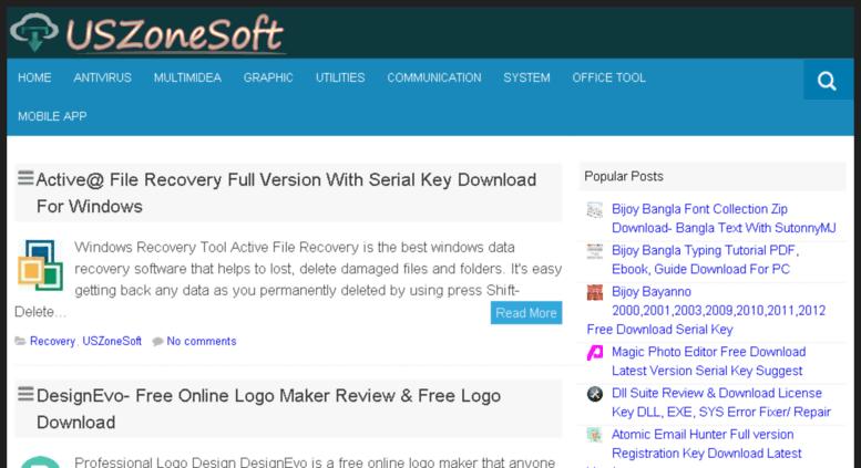 Access ww2 us-uk-software com  USZoneSoft- Free Download Full PC