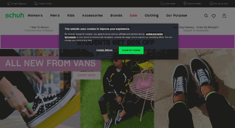 Access www3.schuh.co.uk. Shoes | Shop Men's, Women's & Kids