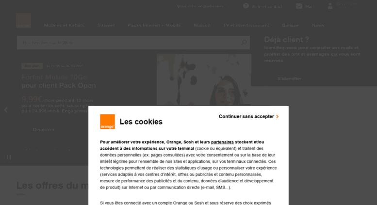 wwwi orange fr screenshot