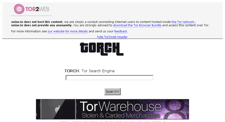 torch tor browser hydra