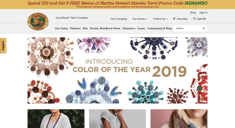 Access Yarnimaginationlionbrand Yarn And Free Knitting And Custom Lionbrand Com Patterns