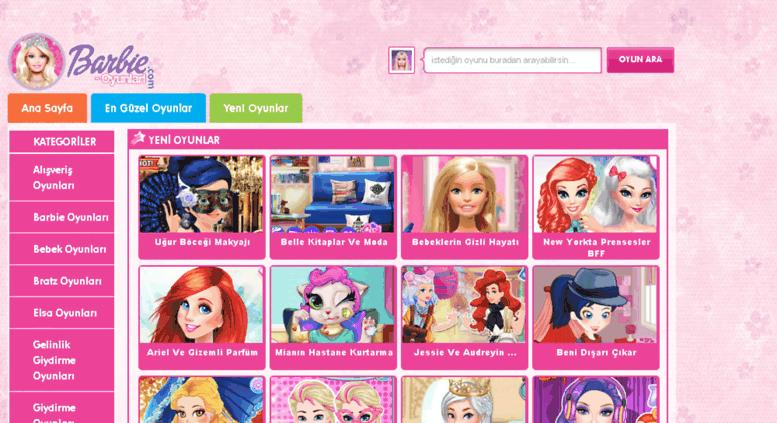 Access Yenibarbioyunlari2com Barbie Oyunları En Yeni Barbi