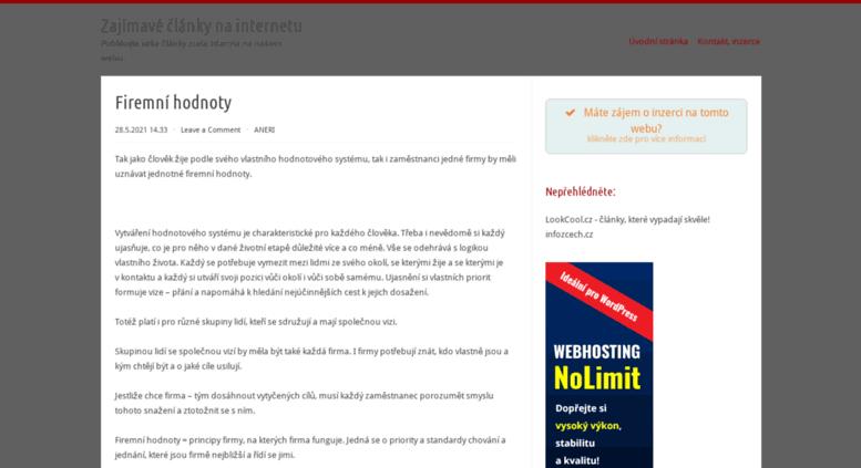 Access yesprague.cz. Zajímavé články na internetu ca09b25cf7