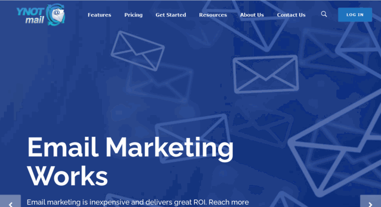 76a8ab643df Access ynotmail.com. Full Service Email Marketing Platform
