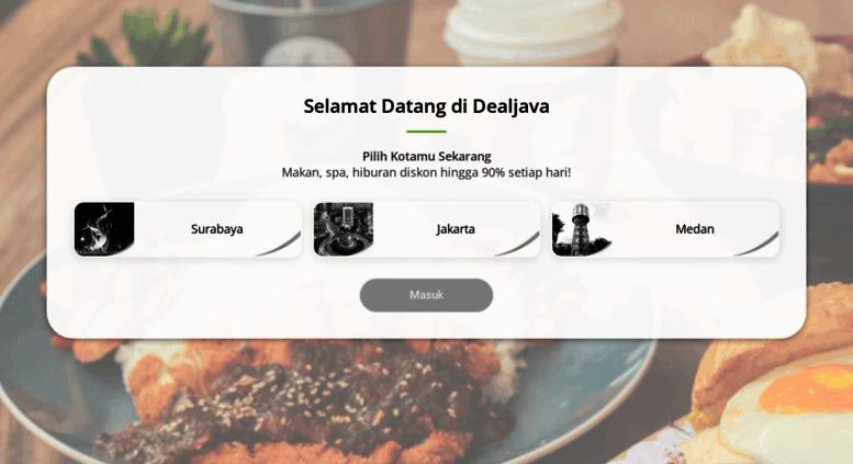 Access Yogyakarta Dealjava Com Dealjava Website Promo