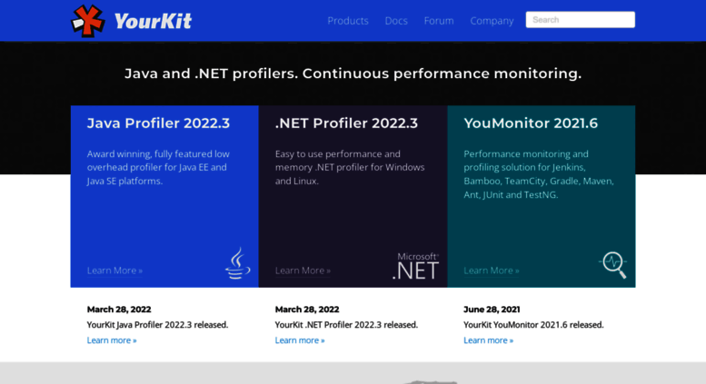 Access yourkit com  YourKit - Profiling and Monitoring Tools